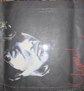 Плакаты концерта Виктора Цоя, других рок-концертов