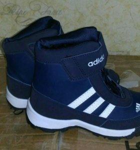 Новые ботинки детские зима