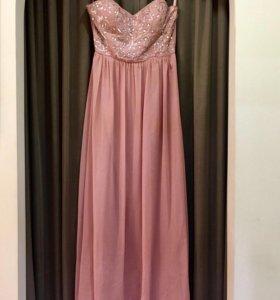 Платье длинное вечернее UK14 (46-48)