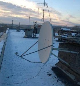 Спутниковая тарелка 1,2 метра офсетная