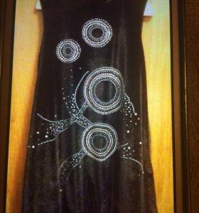 Вечернее новое платье для девочки.Очень красивое!