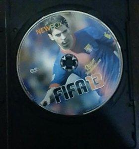Диск FIFA 13 на прошитый XBOX 360.