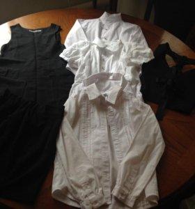 Пакет вещей для школы на 1-2 класс, черно-белые