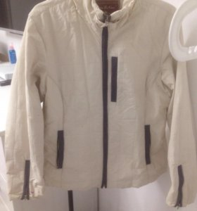 Куртка бежевая, осеняя