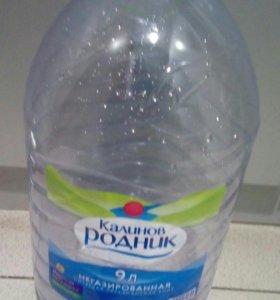 Тара для воды.