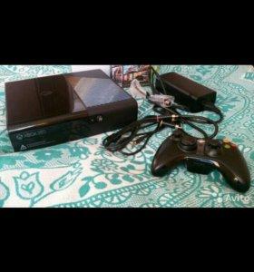 Xbox 360 500 gb + 4 игры