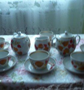 чайно-кофейный сервиз