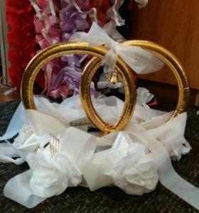 Свадебные Кольца и ленты