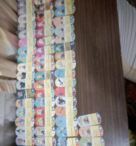 Карточки миньоны. Серия магнит.