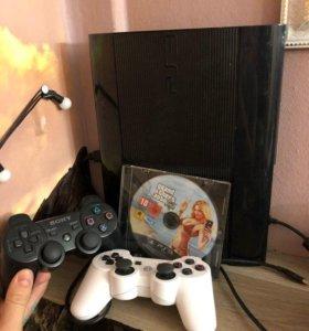 PlayStation3 SuperSlim 500Gb + GTA5+8 игр