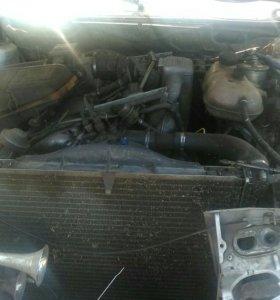 Двигатель коробка