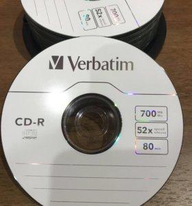 CD-R чистые диски