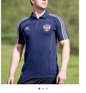 Поло Adidas сб.России по футболу M(46-48)