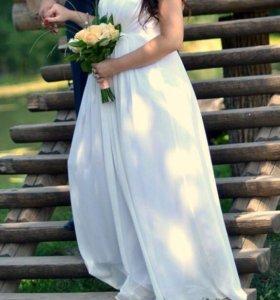 Свадебное платье или платье на выпускной вечер