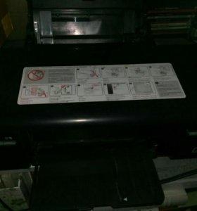 Принтер цветной струйный А4 Epson L800