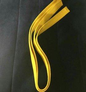 Жёлтый пояс.