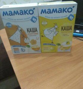 Каши на козьем молоке Мамако