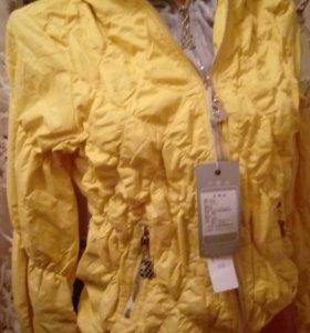Новая стильная куртка 2в1