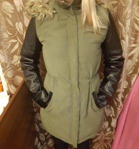 Куртка парка демисезон 42