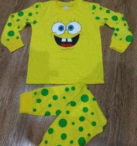 Новая пижама для мальчика,рост 122-128