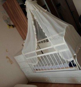 Кровать кроватка детская