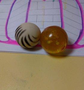 Резиновые мячики 2=1