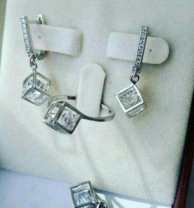 Комплект из серебра