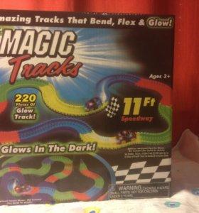 Гоночный трек MAGIC TRACKS - 220 деталей