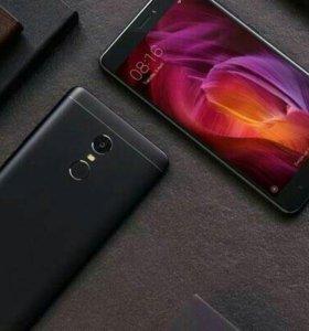 Xiaomi RedMi Note 4 black 3/32gb новые