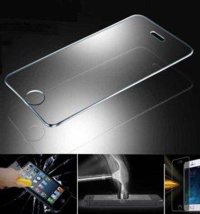 Противоударное защитное стекло IPhone