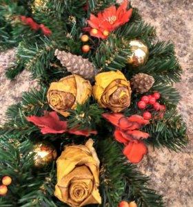 Венок рождественский ( новогодний)