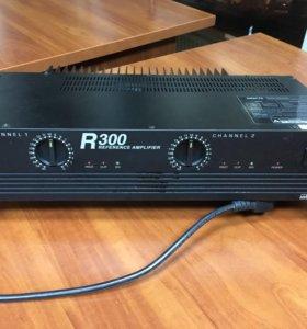 Профессиональный усилитель звука Inter- M R300