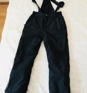 Утеплённые штаны на синтепоне