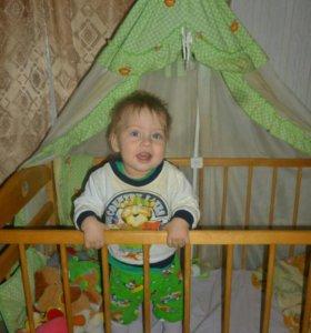 Детская кроватка 1200