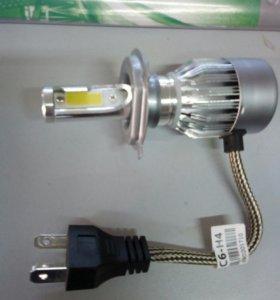 Автолампа LED н4,нб4, н3, н7,