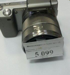 Фотгаппарат sonybnex x5