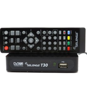 Приставка цифрового телевидения Selenga T30