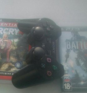 Sony playstation 3 500gb + игры