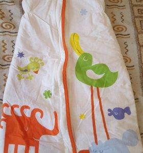 Спальный мешок IKEA для детского сна 6-18 месяцев