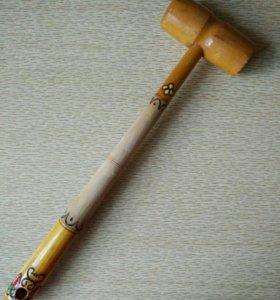 Деревянный молоток для мяса