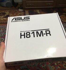Asus H81M-R Сокет 1150