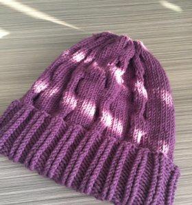 Продам вязаную шапку! Ручная работа!