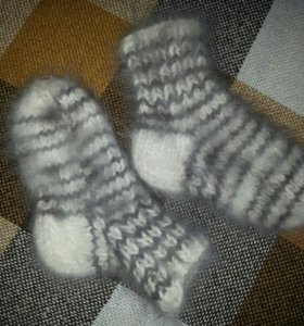 Носки из кролика