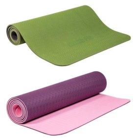 Коврик для йоги и фитнеса 6мм