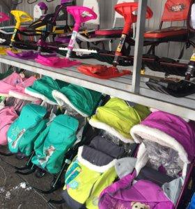 Детские санки и снегокаты