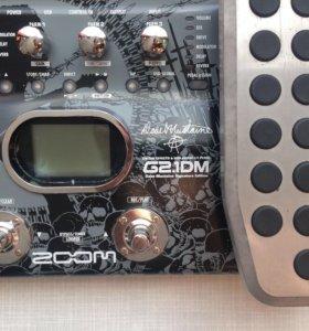 Гитарный процессор zoom G2.1DM