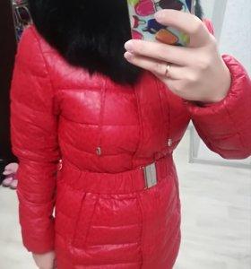 Куртка зимняя (пуховик) р. 44