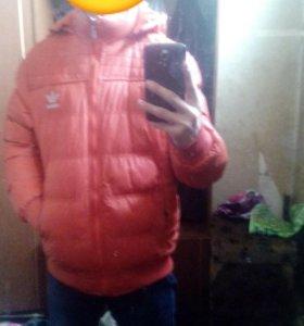 Куртка адидас зимния