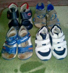 Пакет обуви для мальчика