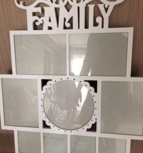 Фоторамка семейная